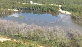 Louisiana Sinkhole 21 Aug 2013