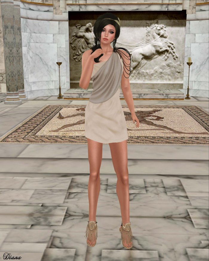 Zenith - Athena Mini Dress-1