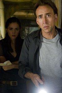 Nicolas Cage as Joh Koestler and Rose Byrne as Diana Wayland.