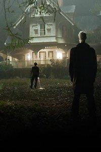 Strange silent men surround the Koestler house.
