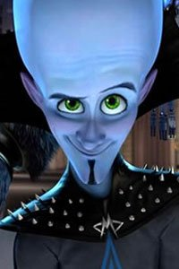 Megamind looking cocky.