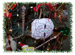 Noel's ornamentby Grandma H.