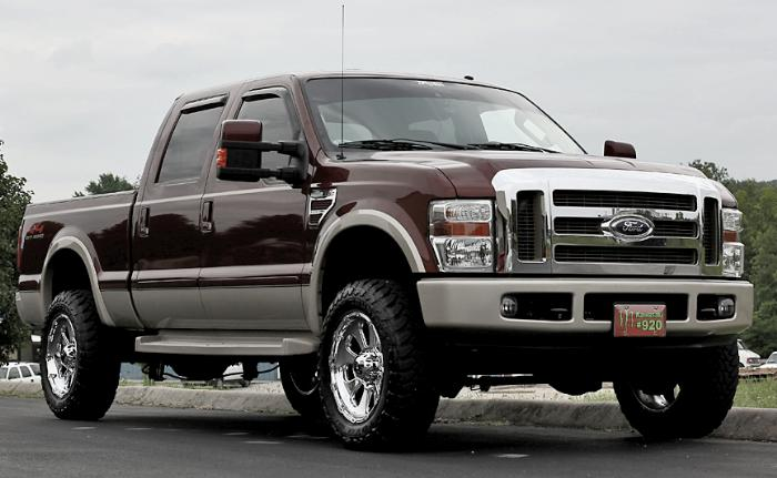 Ford Super Duty Lift Kit / Tire Size Examples \u2013 Blue Oval Trucks