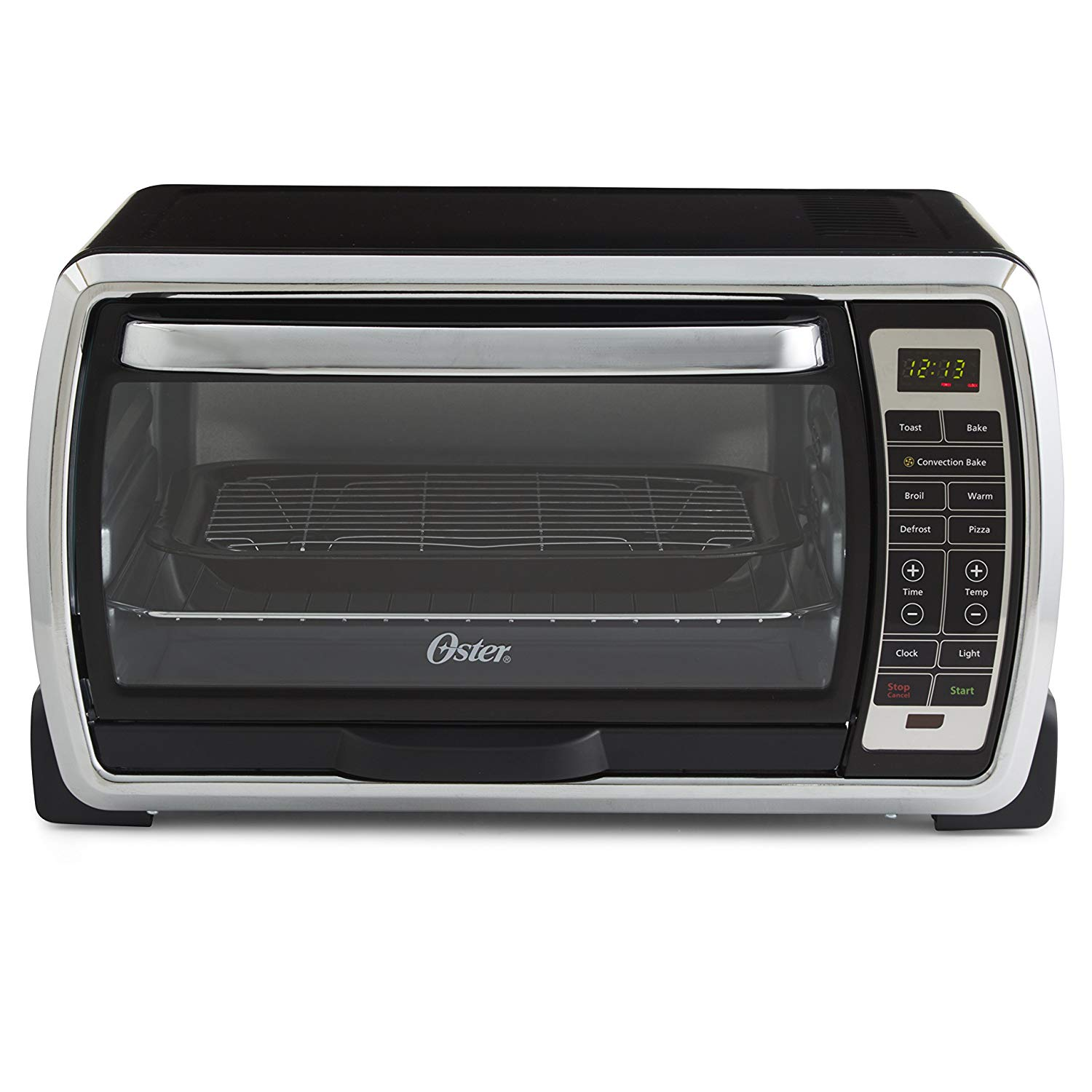 Oster Convection Countertop Oven Reviews Oster Large Capacity 6 Slice Digital Convection Toaster Oven