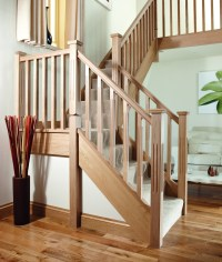 Square Double Fluted Newel Post | Blueprint Joinery