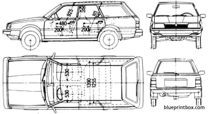 Schaltplang 1988 subaru wagon