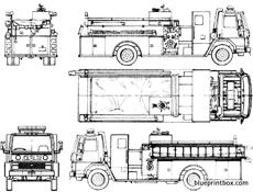 1985 ford 8000 Schaltplang