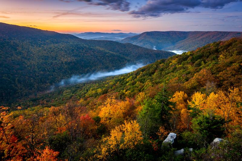 Smoky Mountains Fall Wallpaper Zenfolio Blue Ridge Imagery Photographing Appalachian