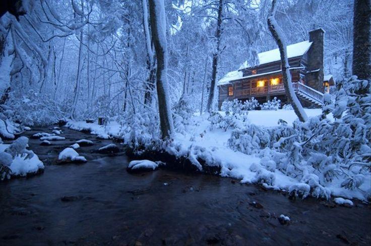 Fall Mountain Scenes Wallpaper Gorgeous Blue Ridge Cabins In The Snow Blue Ridge