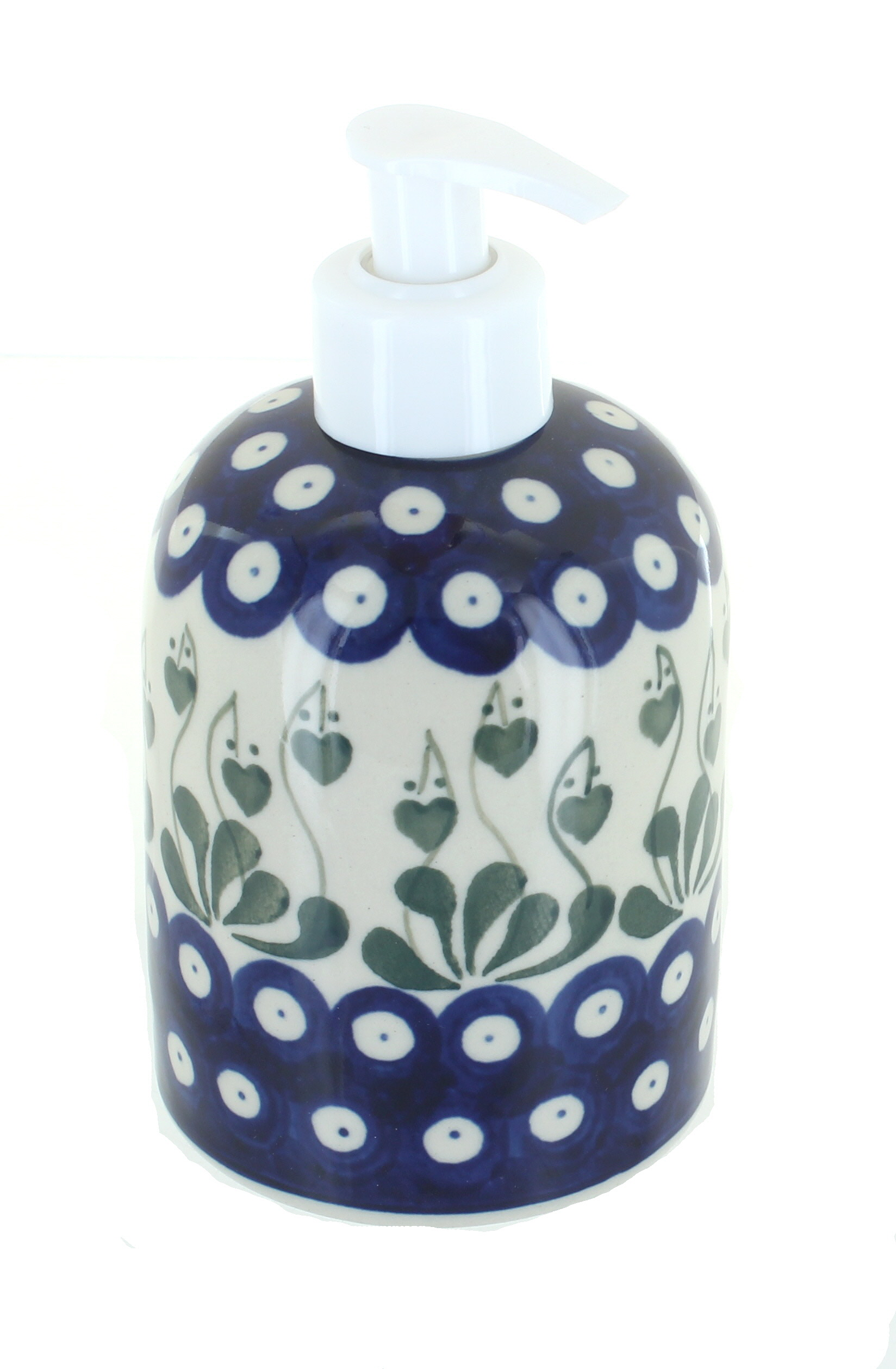 Peacock Paper Towel Holder Blue Rose Polish Pottery Alyce Soap Dispenser