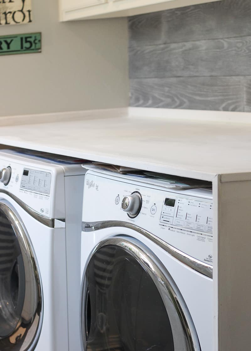 Installing A Countertop How To Install A Laundry Room Countertop Bluesky At Home