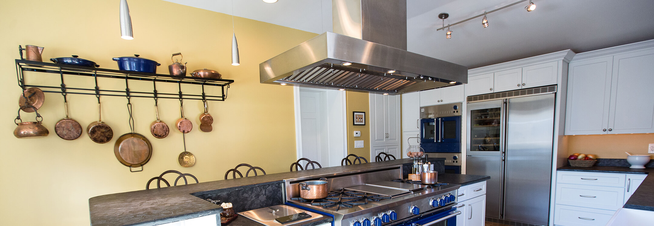 Built In Kitchen Island Island Range Hoods | Professional Hoods & Ventilation
