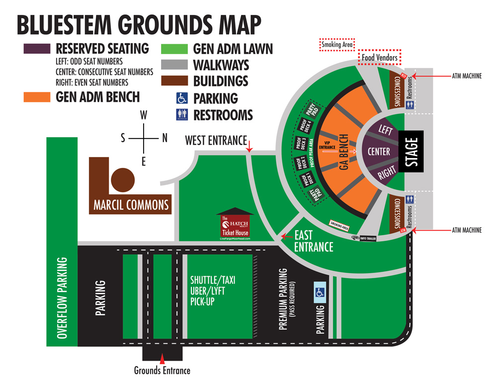 Mapped Out \u2013 Bluestem Amphitheater - a seating
