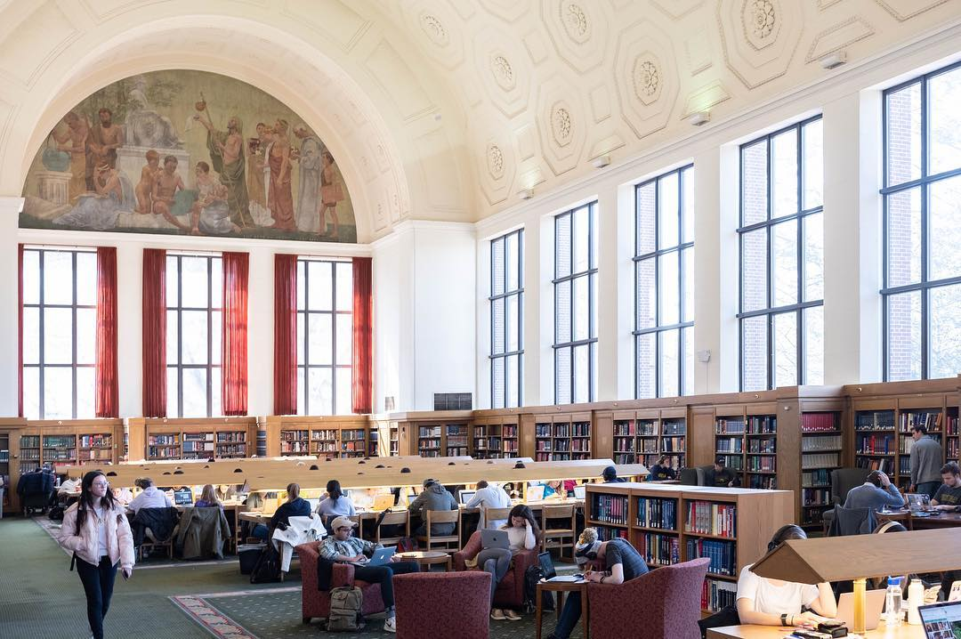 Reference Room, Harlan Hatcher Graduate Library, University of