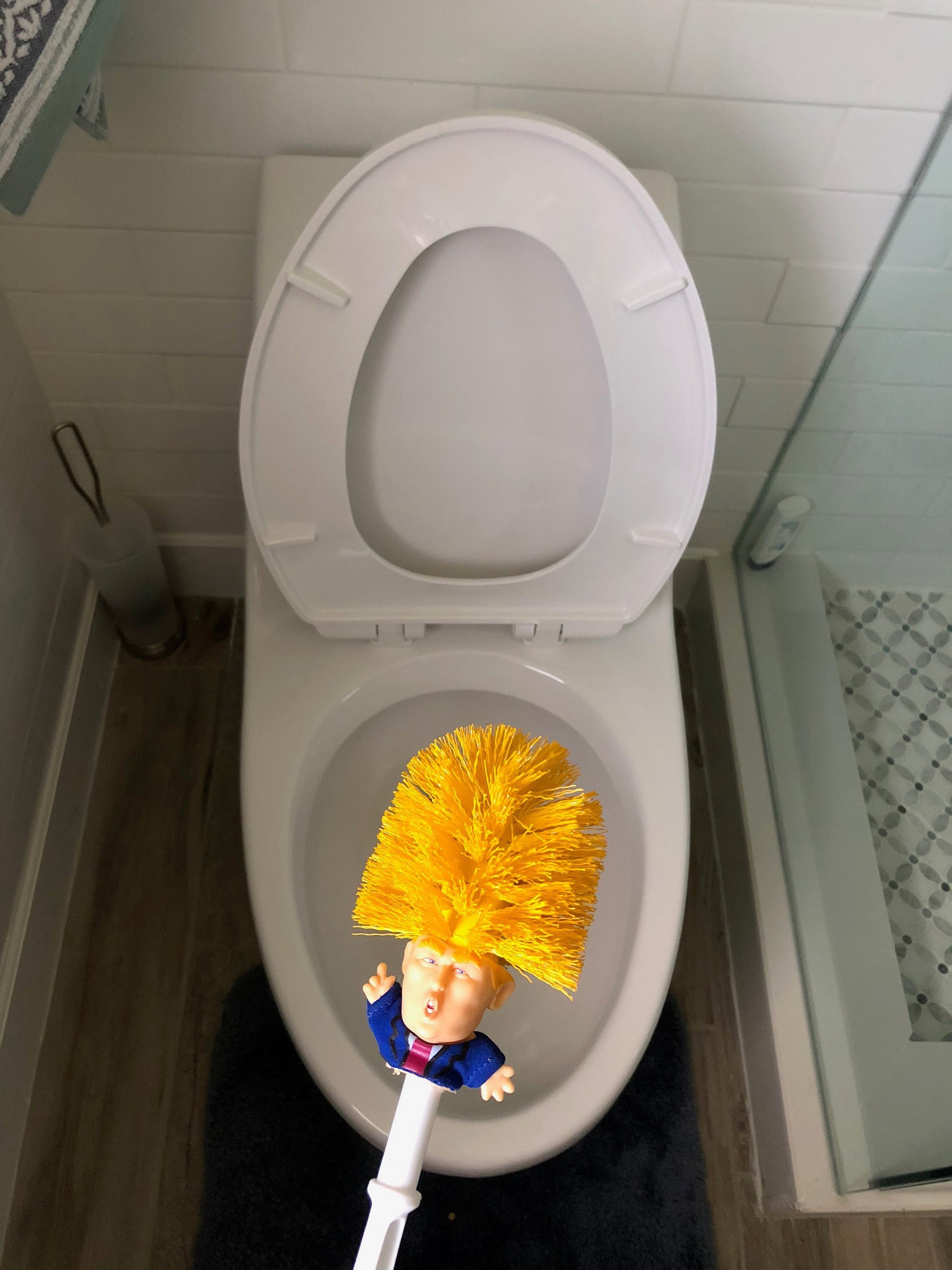How To Buy A Toilet You Can Now Buy A Donaldtrump Toilet Brush Bluesyemre