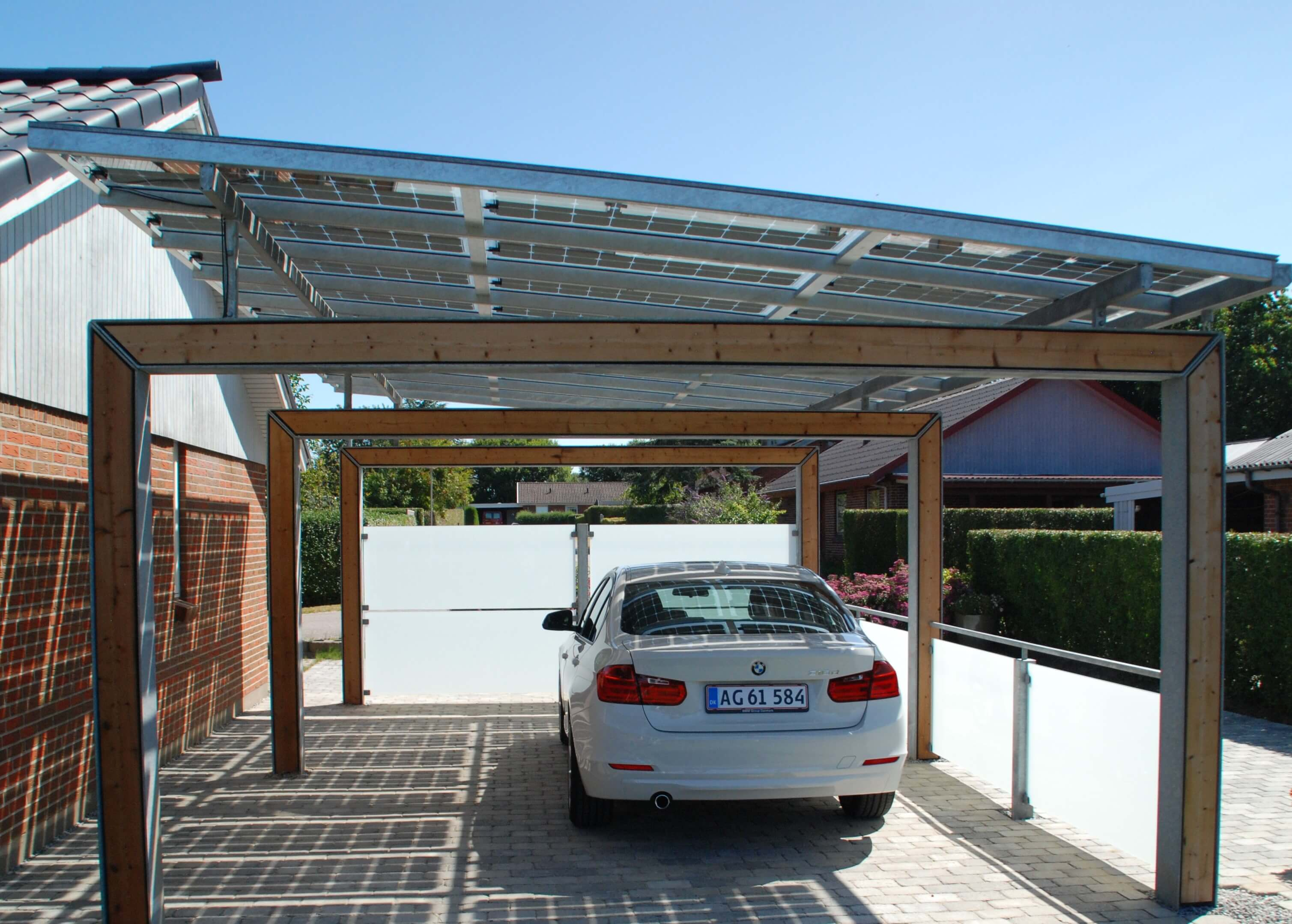 Karpot Bluetop Solar Parking - Portal System