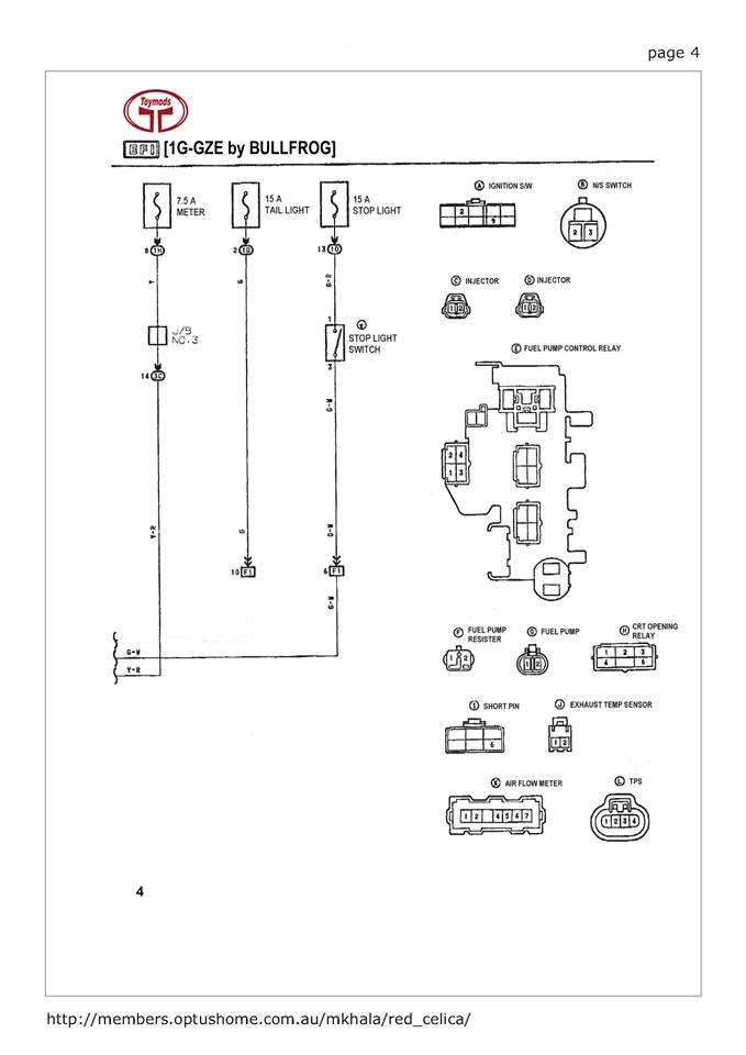 1977 Celica Wiring Diagram Wiring Diagram