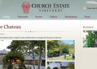 ChurchEstateVineyards.com