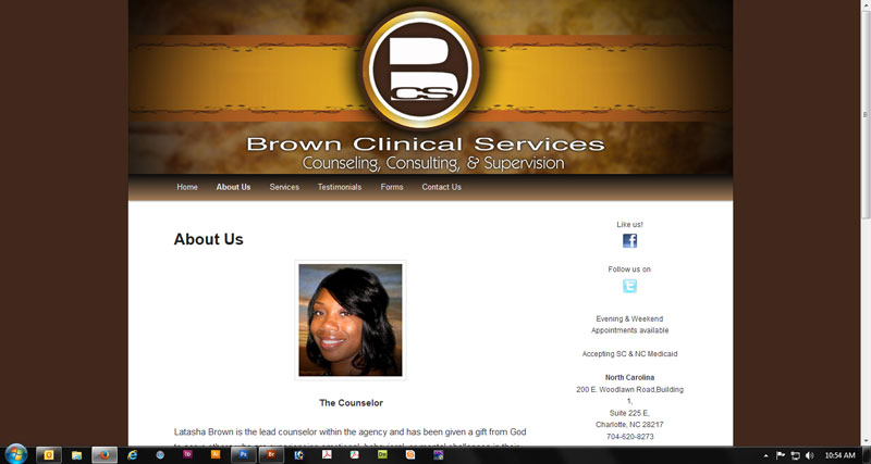 Brown Clinical Services