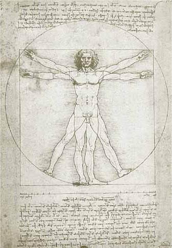 Leonardo da Vincis Vitruvian Mann