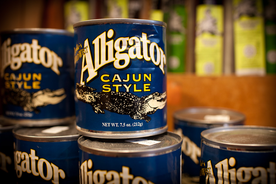 The Best Alligator is in a Can