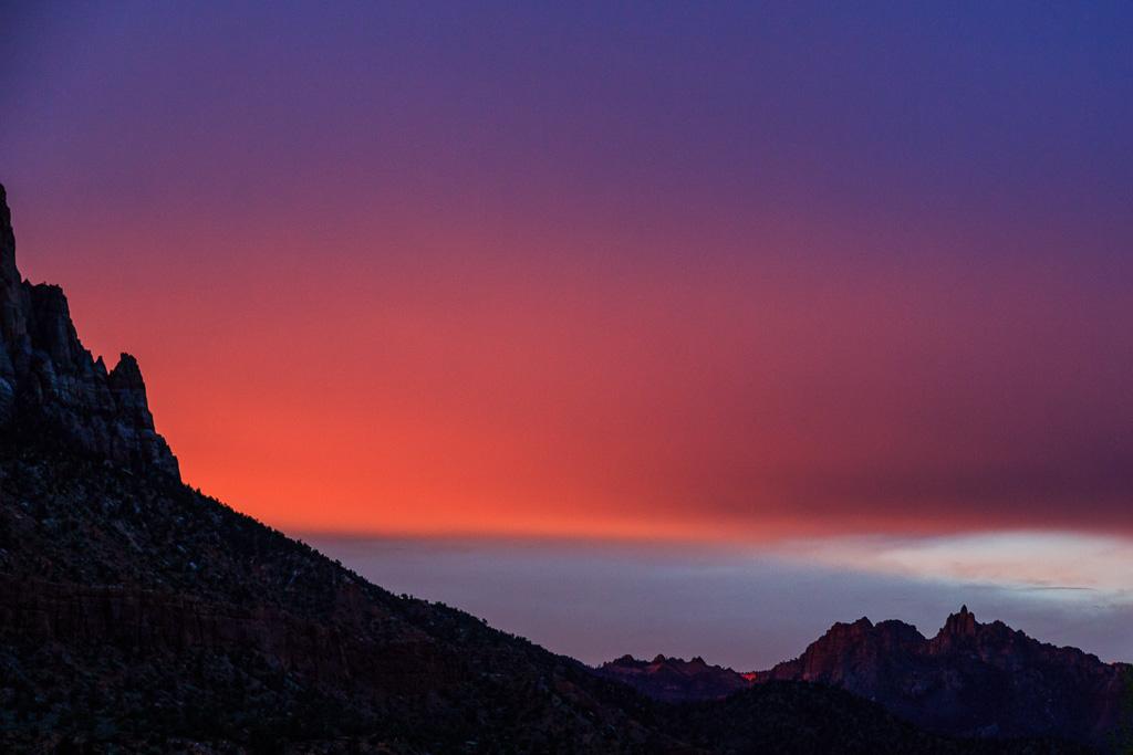 Sunrise Over Springdale