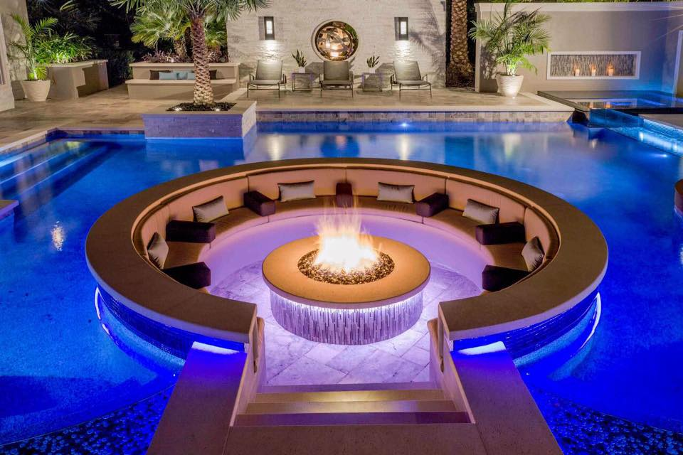 Amenagement Terrasse Design 50 Comforting Fire Pit Sitting Idea For A Perfect Evening