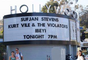 Sufjan Stevens at Hollywood Bowl 8/7/16. Photo by Derrick K. Lee, Esq. (@Methodman13) for www.BlurredCulture.com.