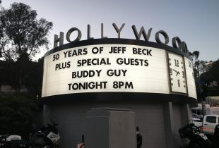 Buddy Guy at Hollywood Bowl 8/10/16.