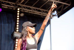 Angel Haze at AFROPUNK FEST Brooklyn 2016 8/28/16. Photo by Cortney Armitage (@CortneyArmitage) for www.BlurredCulture.com.