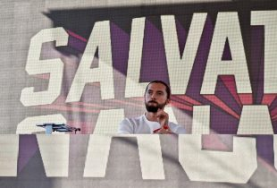 Salvatore Ganacci @ Stockholm, CA 10/15/16. Photo by Derrick K. Lee, Esq. (@Methodman13) for www.BlurredCulture.com.