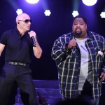 Pitbull & LunchMoney Lewis for the 4th Annual We Can Survive at the Hollywood Bowl 10/22/16. Photo courtesy of Getty Images for CBS RADIO. Used With Permission.