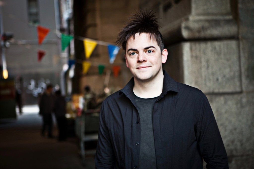 Nico Muhly. Photo by Matthew Murphy. Courtesy of the Los Angeles Philharmonic. Used with permission.