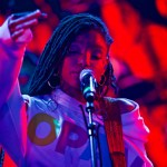 Chloe x Halle // 3/17/2017 at Youtube at Coppertank // SXSW 2017 // Photo by Derrick K. Lee, Esq. (@Methodman13) for www.BlurredCulture.com.