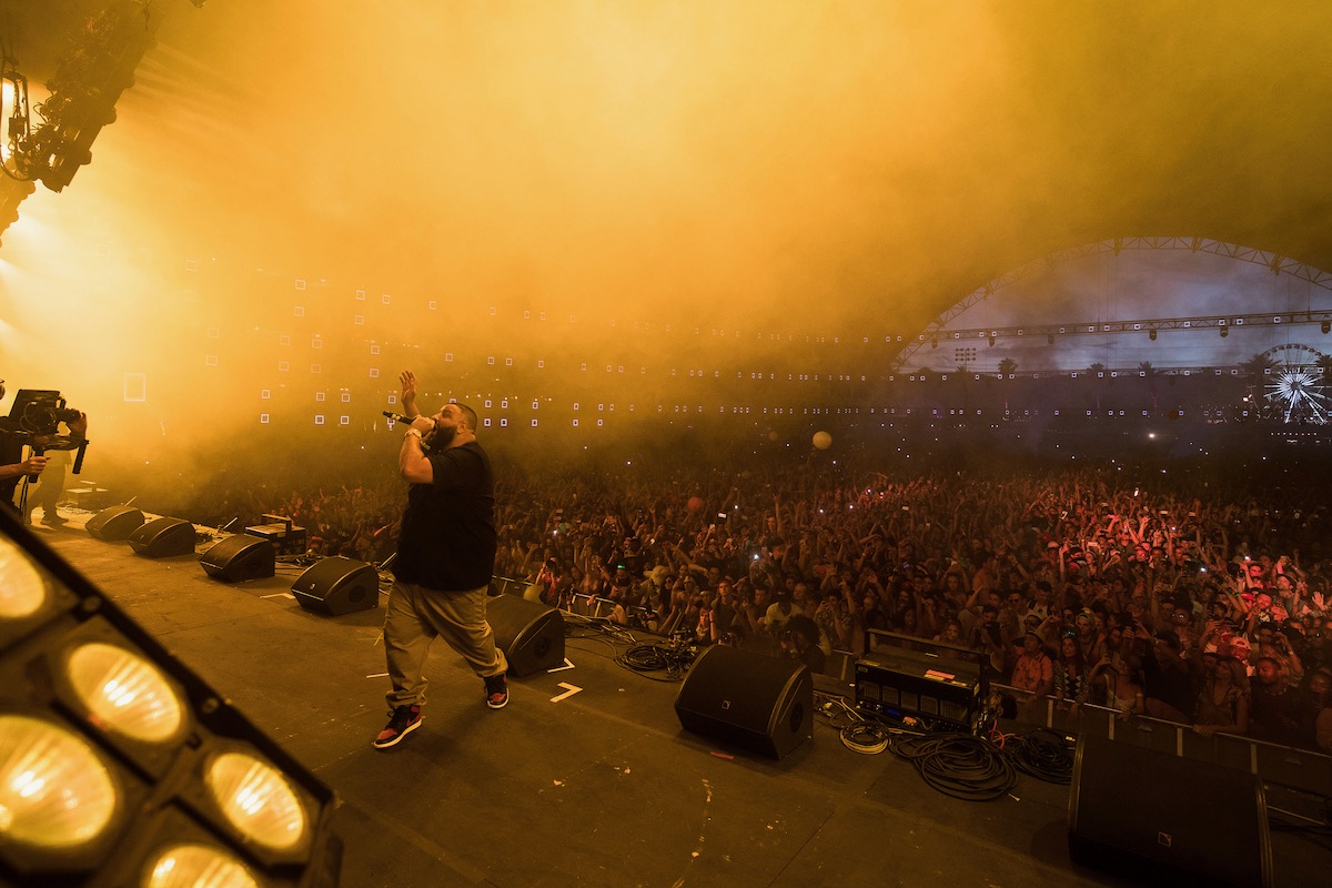 DJ Khaled @ Coachella 4/16/17. Photo by Julian Bajsel. Courtesy of Coachella. Used with permission.