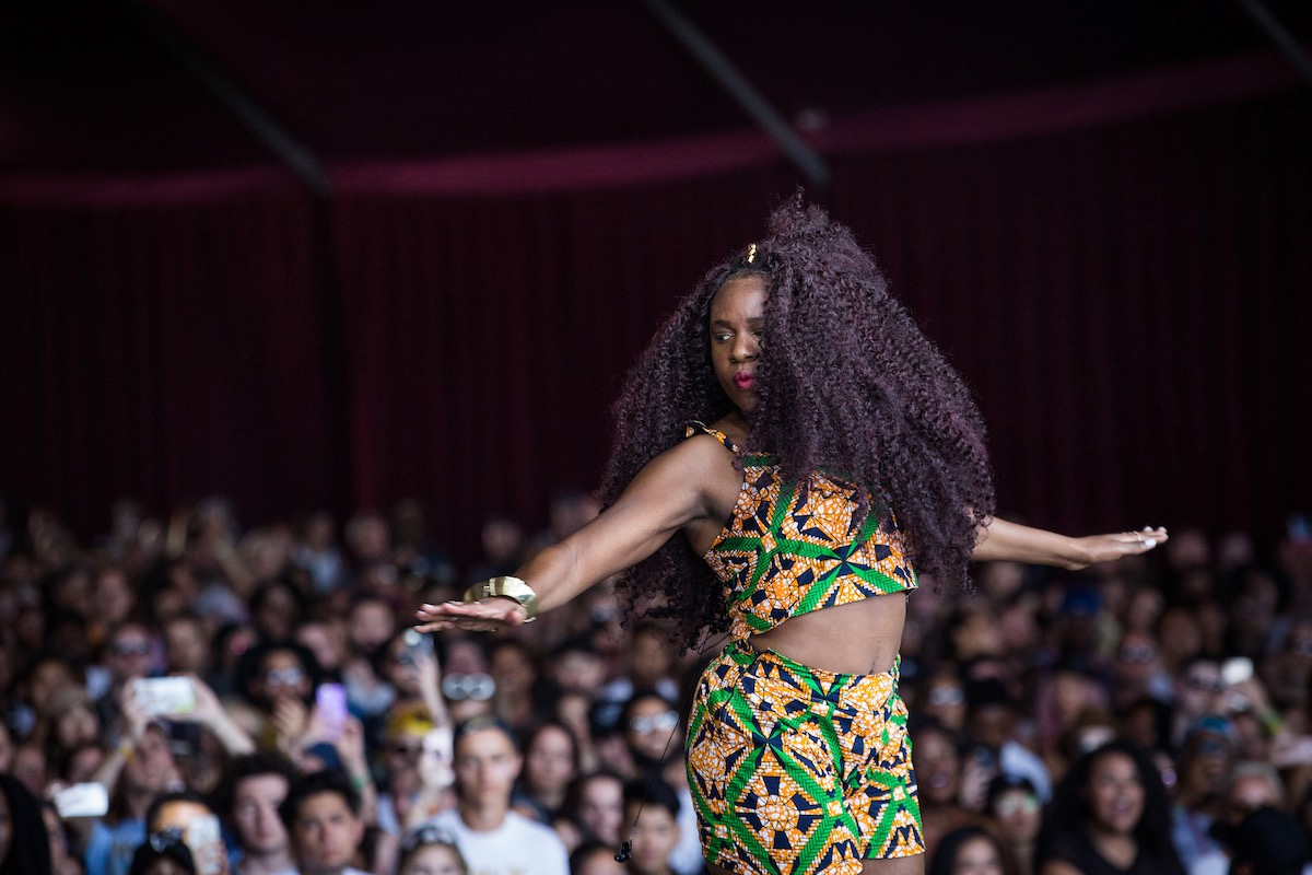 NAO @ Coachella 4/16/17. Photo by Greg Noire. Courtesy of Coachella. Used with permission.