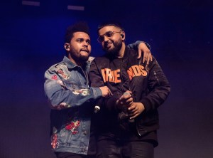 NAV with Weeknd @ Coachella 4/15/17. Photo by Greg Noire. Courtesy of Coachella. Used with permission.