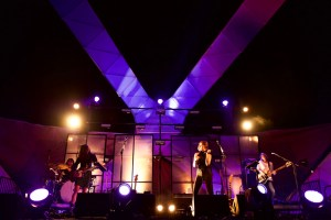 Warpaint at Santa Monica Pier's Twilight Concerts 8/17/17. Photo by Derrick K. Lee, Esq. (@Methodman13) for www.BlurredCulture.com.