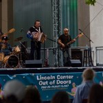 Flaco Jimenez at AmericanaFest NYC @ Hearst Plaza 8/12/17. Photo by Vivian Wang (@Lithophyte) for www.BlurredCulture.com.