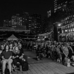 """The Crowd at NPR's """"Turning The Tables"""" @ Damrosch Park 7/26/17. Photo by Vivian Wang (@Lithophyte) for www.BlurredCulture.com."""