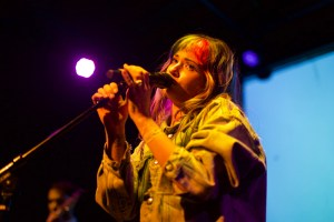 Lauren Ruth Ward at The Bootleg Theater 9/29/17. Photo by Derrick K. Lee, Esq. (@Methodman13) for www.BlurredCulture.com.