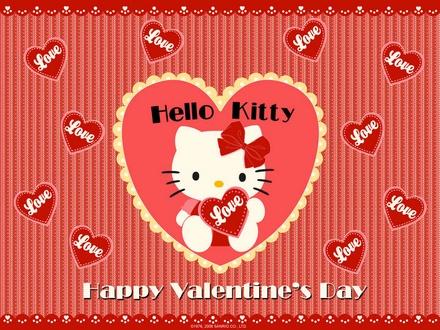 Hello Kitty Valentine's Day