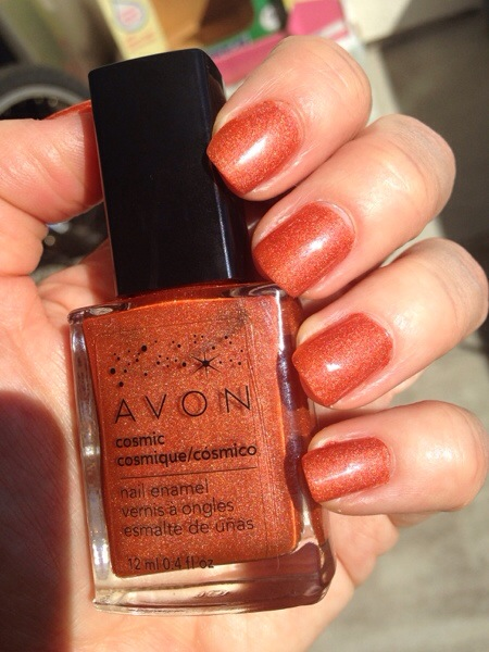 Avon Cosmic Saturn, manicure monday