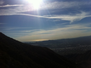 hiking, verdugos, hiking in los angeles