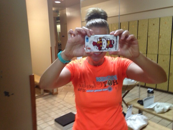 Orange is the New Black, SoCal Blogger Society, Gym Selfie