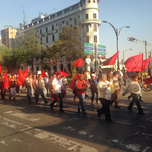 Protest on Reforma