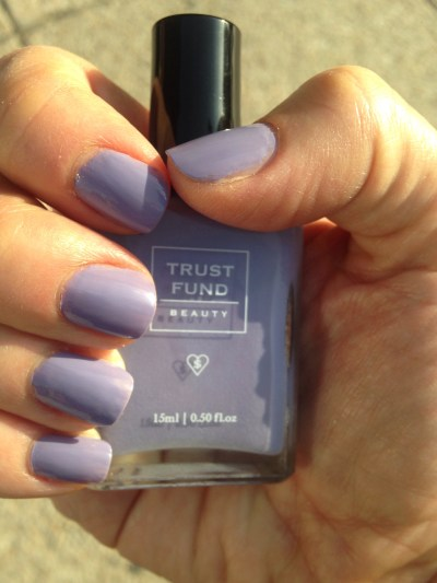Elegantly Wasted nail polish from Trust Fund Beauty for today's Manicure Monday