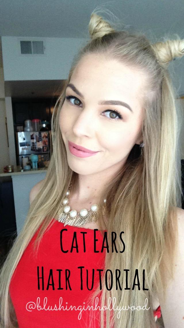 Cat Ears Hair Tutorial ft. Girl Get Glamorous Hair Extensions