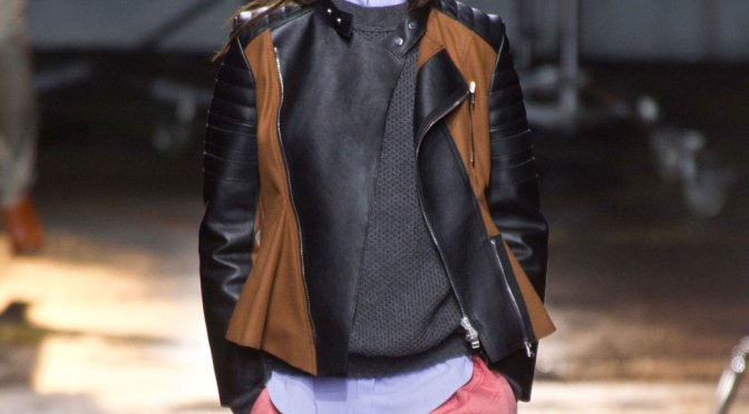 <em>The New Essential:</em> <br>3.1 PHILLIP LIM <br>LEATHER JACKET