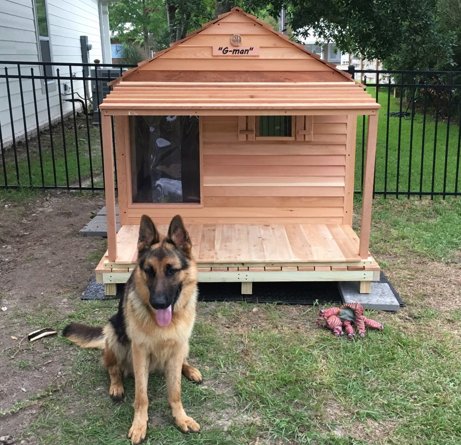 Dog House Godzilla Dog House